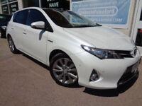 Toyota Auris 1.8 VVT-i HSD ( 136bhp ) CVT-I 2015 Excel Hybrid S/H P/X Swap