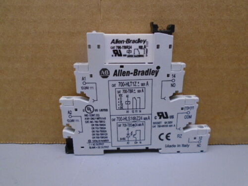 700-HLT1Z24 Allen Bradley 700-TBR24 and base   W377