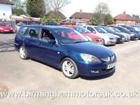 2005 (55 Reg) Mitsubishi Lancer 2.0 SPORT 5DR Estate BLUE + LOW MILES