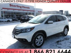 2014 Honda CR-V EX ALL WHEEL DRIVE | 1 OWNER | NO ACCIDENTS