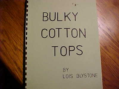 Bulky Cotton Tops For Knitting Machines