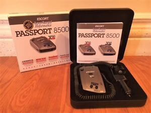 RADAR DETECTOR (AVOID GETTING A TICKET WHEN DRIVING IN US)