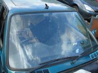 bmw e30 316 automatic estate windscreen breaking for parts