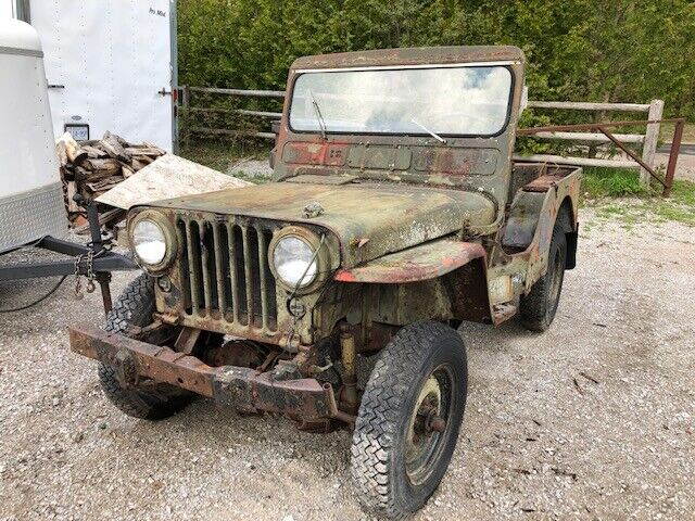 Willys Jeep For Sale >> M38 Military Willys Jeep 1952 For Sale Classic Cars Barrie Kijiji
