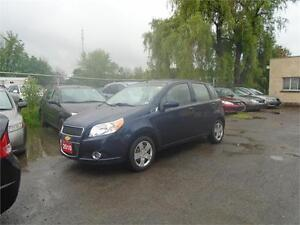 "2010 CHEVROLET AVEO-ONLY 78,000 KM-EXTRA CLEAN-""SALE"" PRICED!"