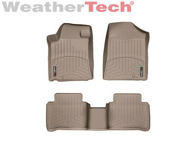 WeatherTech Floor Mats FloorLiner for Nissan Maxima - 09-14 - 1st/2nd Row- Tan