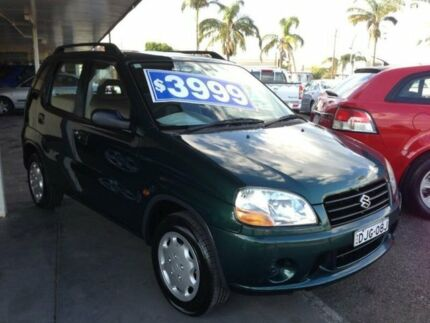 2001 Suzuki Ignis GL Green 4 Speed Automatic Hatchback