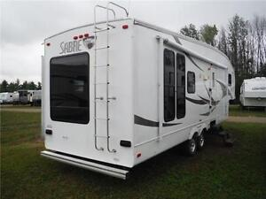 2007 Sabre 30RES Luxury 5th wheel trailer with power slideout Stratford Kitchener Area image 3