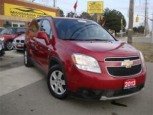 2013 Chevrolet Orlando LT,ONE LOCAL OWNER,ACCIDENT FREE,7PASS