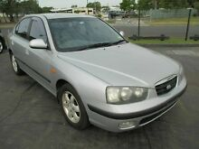 2002 Hyundai Elantra XD GLS Silver 5 Speed Manual Hatchback Kippa-ring Redcliffe Area Preview