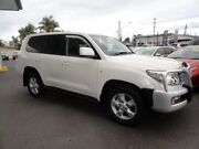 2010 Toyota Landcruiser VDJ200R MY10 Sahara White 6 Speed Sports Automatic Wagon West Ballina Ballina Area Preview