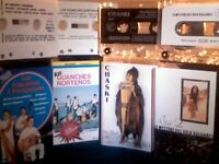 PART 2 OF 2. WORLD MUSIC BY COUNTRY &/OR SPECIALIST/INDIGENOUS INSTRUMENT PRERECORDED CASSETTE TAPES