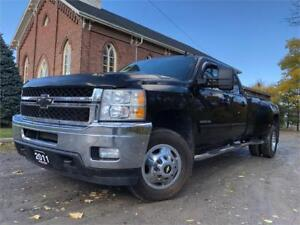 2011 Chevrolet Silverado 3500HD LTZ - LOADED+4WD+NAV+SUNROOF