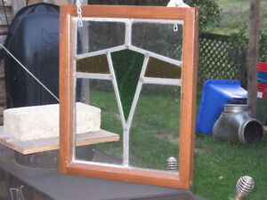 2 Antique Old Stained Glass Windows. Kitchener / Waterloo Kitchener Area image 4