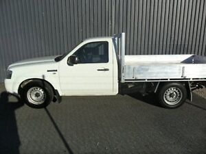 2008 Ford Ranger PJ XL White 5 Speed Manual Cab Chassis Kippa-ring Redcliffe Area Preview