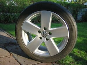 "4x Volkswagen / VW ""Monte Carlo"" Mags (5x112mm) + 235/45R17"