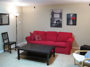 Beautiful furnished basesment suite