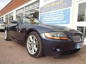 BMW Z4 3.0i 2004 SE Roadster Concertible Full S/H P/X Swap