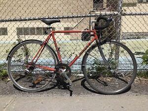 Miele UNO L.S. 10-speed road bike red