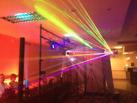 Book Your Next Party Now DJ with Lighting Lasers Music Videos an