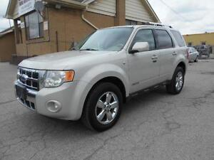 2008 FORD Escape Limited 3.0L V6 AWD Leather Sunroof 172,000KMs