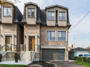 OPEN HOUSE North York Custom Homes For Sale at Keele and Wilson
