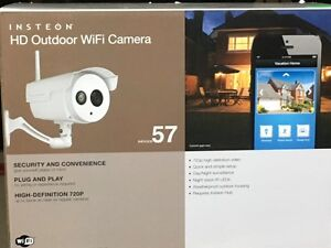 INSTEON WIRELESS OUTDOOR HD 720P IP CAMERA WITH NIGHT VISION