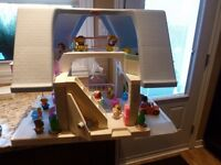 Rare Vintage Little Tikes Dollhouse with furniture, people etc.