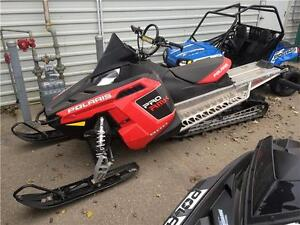 "2011 Polaris Pro RMK 800 155"" Electric Start"