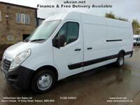 2012 12 VAUXHALL MOVANO EXTRA LWB, TWIN WHEEL, MASSIVE 4 METRE LOAD SPACE, FSH,