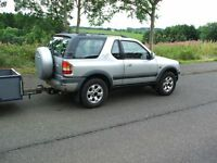 Vauxhall Frontera RS 2.2DTI and New Trailer