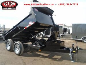 INCLUDES ALL THE OPTIONS - YOUR LOWEST PRICED 6X10 DUMP TRAILER London Ontario image 1