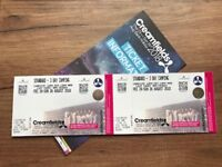 BIG DISCOUNT of £50. 2 x Creamfields 3 day standard camping tickets