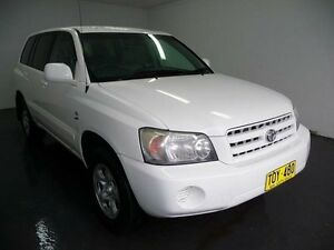 2005 Toyota Kluger White 5 Speed Automatic Wagon Cabramatta Fairfield Area Preview