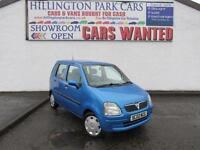 VAUXHALL AGILA 1.2 16v 2002, GREAT SERVICE HISTORY, VERY WELL LOOKED AFTER