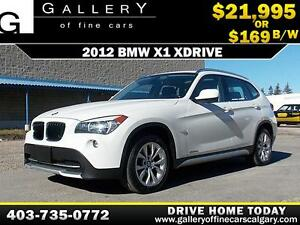 2012 BMW X1 xDrive28i $169 bi-weekly APPLY NOW DRIVE NOW