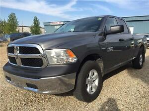 2013 Ram 1500 4x4 ~ Low Kms ~ Towing Package ~ $99 B/W