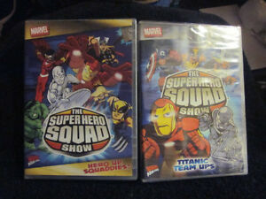 2 Marvel The Super Hero Squad DVD's BRAND NEW London Ontario image 1