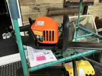 Petrol hedge trimmer -excellent condition