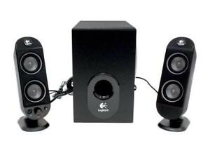 Logitech X -230 SPEAKERS with double input connections - 9.9/10