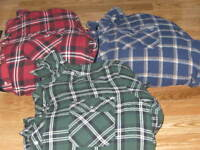MENS LONG SLEEVED INSULATED BUTTON UP JACKETS  XXL