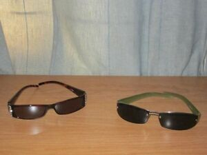 Women's Sunglasses Brown & Light Green Color (2 FOR $10.00)