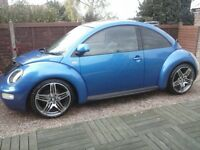 2001 beetle 2.0 petrol 12 months mot 126,000 ,history to 108,000