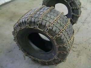 Riding Mower Tires Chains 3  Sets Various Prices