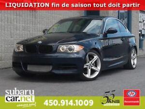 2008 BMW 1 Series *GARANTIE* 135i TOIT OUVRANT,  SIÈGE CHAUFFANT