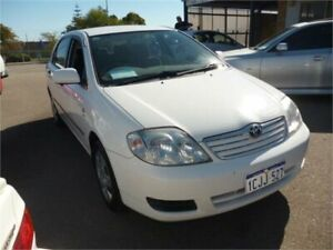 2006 Toyota Corolla ZZE122R Ascent White 4 Speed Automatic Sedan Wangara Wanneroo Area Preview