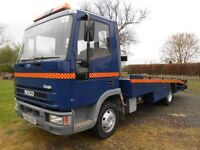IVECO CARGO 75 E150 RECOVERY BEAVERTAIL.WINCH.RAMPS.SERVICED.RE-PAINTED