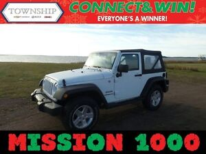 2014 Jeep Wrangler Sport - 4WD - Soft Top - Manual Transmission