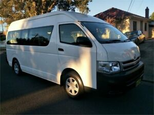 2013 Toyota HiAce TRH223R MY12 Commuter Automatic Bus Lidcombe Auburn Area Preview