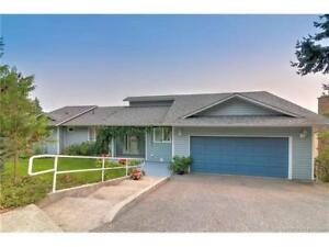 Open House! Family home with lake view in West Kelowna Estates